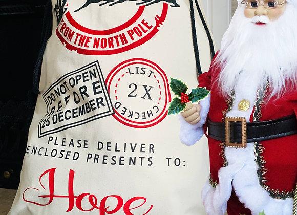 Personalised Santa Sacks Stockings