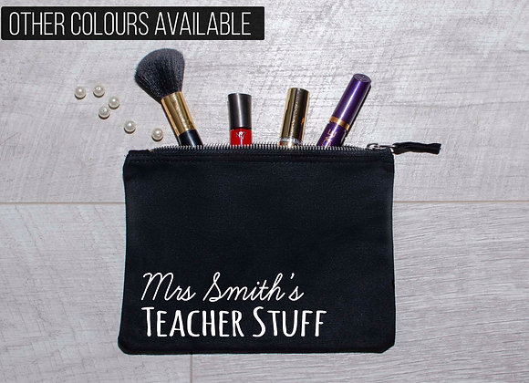 Personalised Teacher's Pencil Case Gift