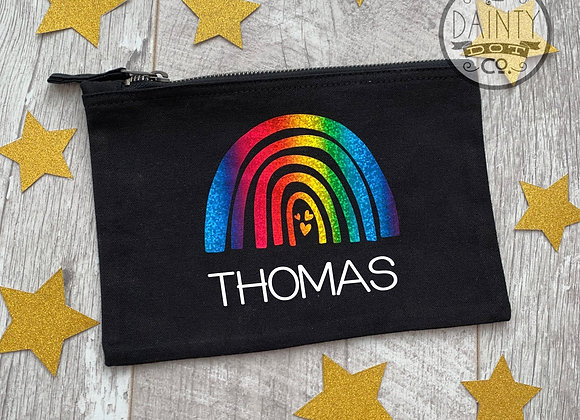 Personalised Rainbow Hope Pencil Case