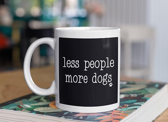 Less People More Mug