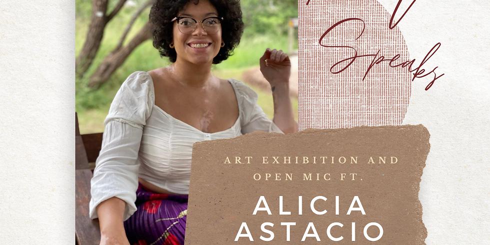 SPIRIT SPEAKS ART EXHIBITION AND OPEN MIC FT. ALICIA ASTACIO