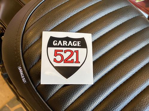 GARAGE521ステッカー