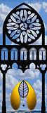 Gotik, Spitzbogen, Rosenfenster,