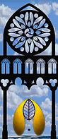 Gotik, Spitzbogen, Rosenfenster, Umberto Eco, Kloster Eberbach,