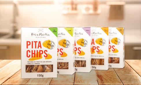 Pita chips Doña Martha