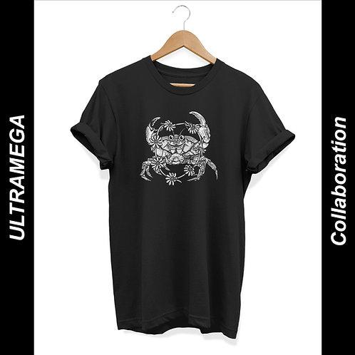 'Acid Crab' - by ULTRAMEGA Unisex T-Shirt Black