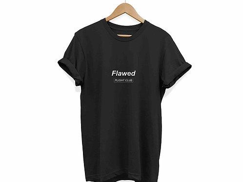 Flawed - Unisex T-Shirt Black