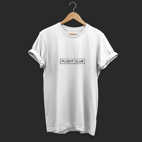 Plight Club - Unisex T-Shirt White