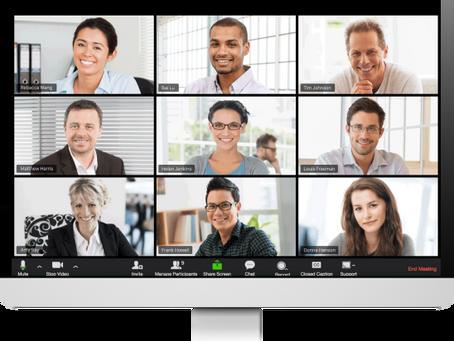 NEU IM PROGRAMM: Online-Training für Videokonferenzen, Online-Meetings, Webinare & Co.