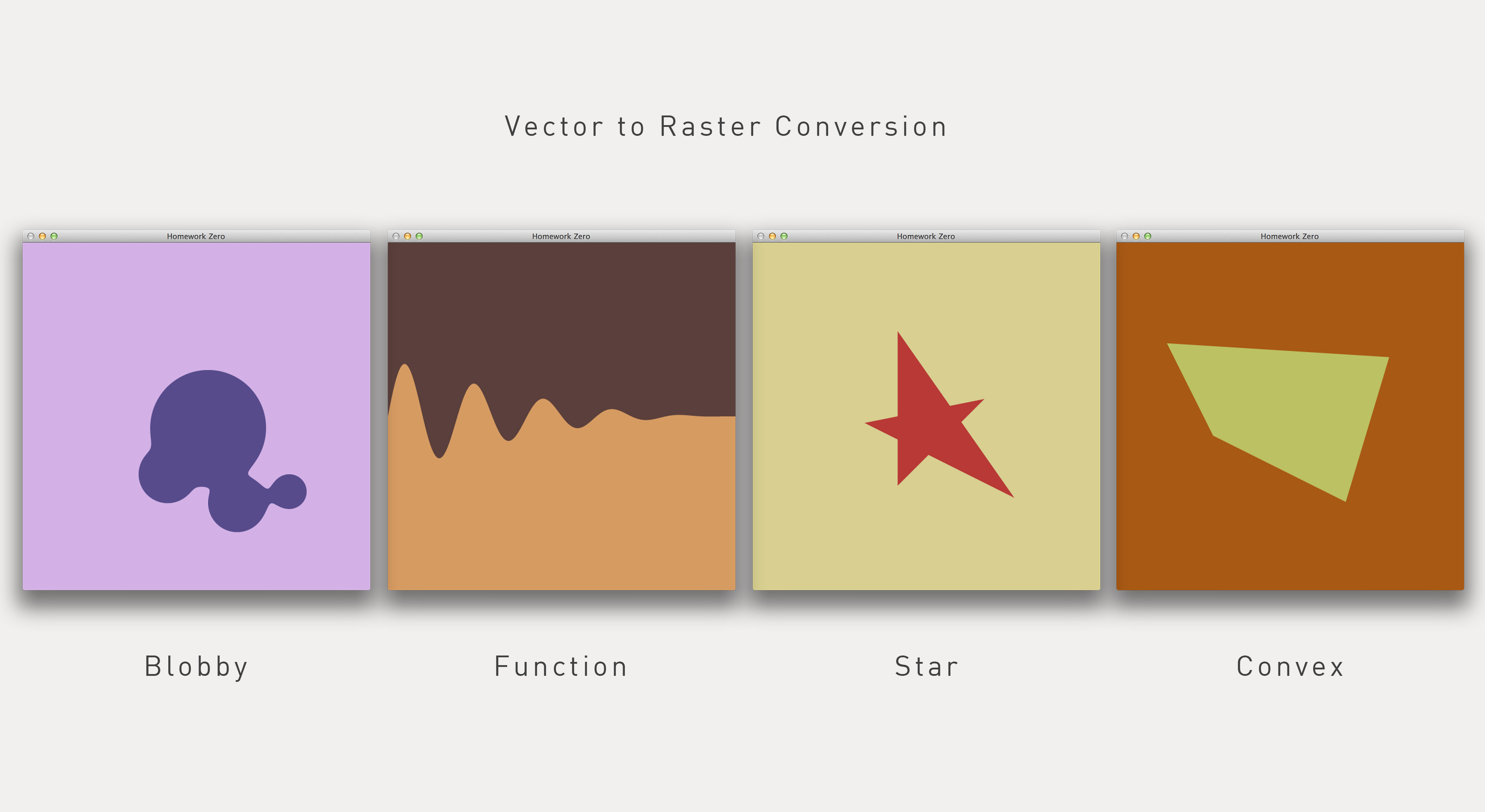 Vector to Raster