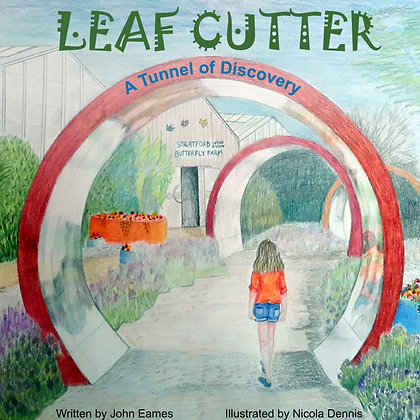 LEAFCUTTER - Tunnels of Discovery- includes free Tapestry of Ant Life pullout.