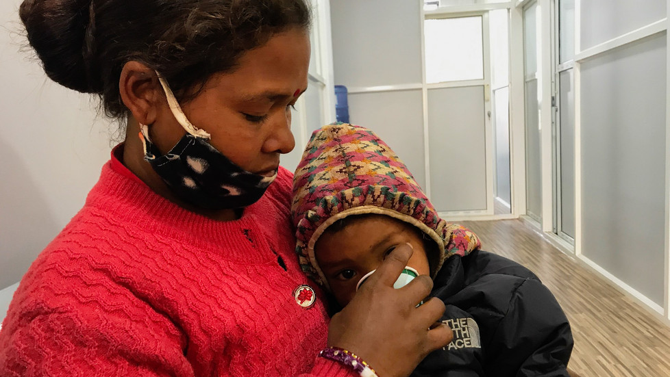 Health Check-ups for BSF Families in Nepal