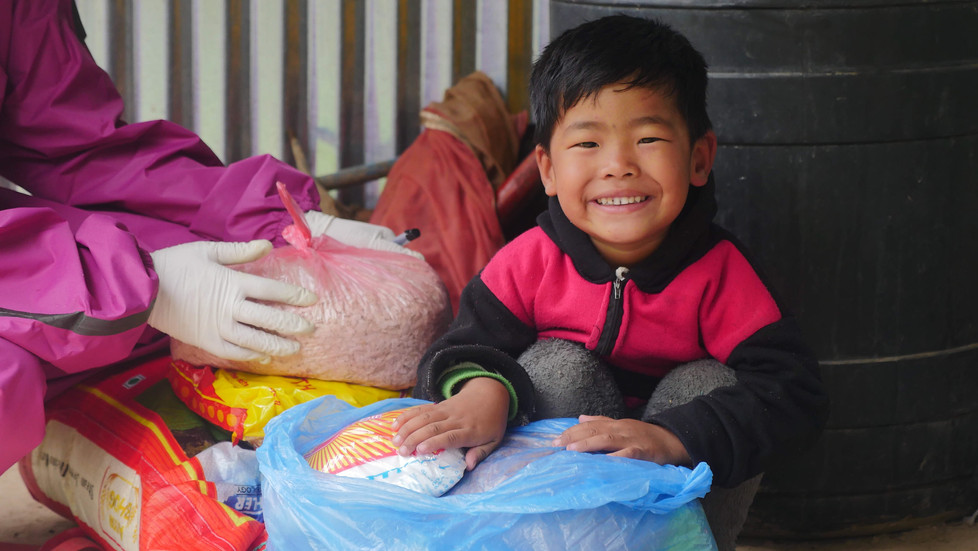Food Relief for Families in Nepal