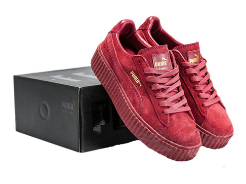 Puma Creepers Burgundy