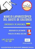 MANEJO LAPAROSCÓPICO DEL QUISTE DE COLÉDOCO