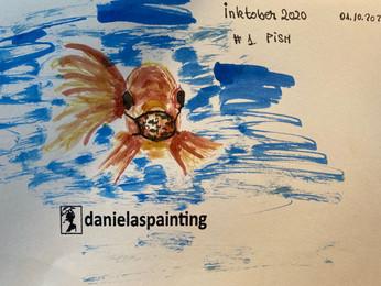 InktoberDay1_Fish