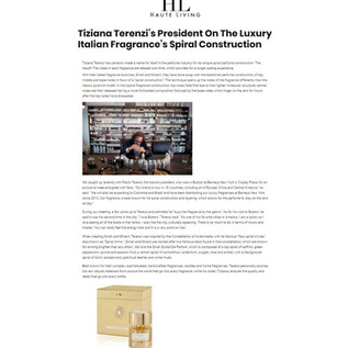 Tiziana Terenzi - Haute Living, March 2019