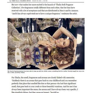 Thalia Sodi - LA Times, August 2019