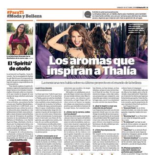 Thalia Sodi - El Diario NY, October 2019