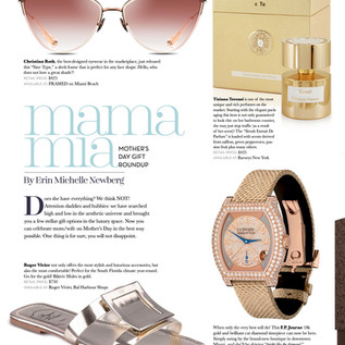 Tiziana Terenzi - In Weston Magazine, May 2019