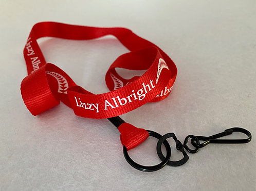 Lizzy Albright Collectible Lanyard