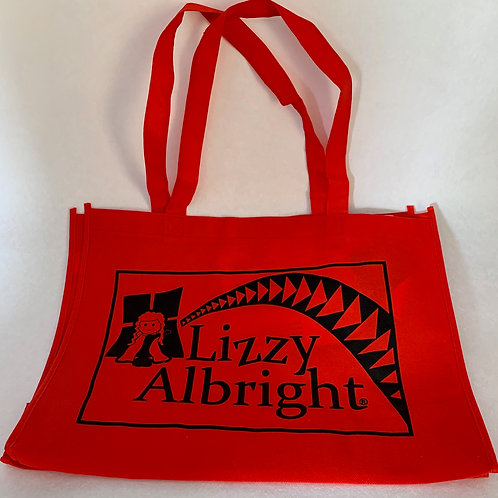 Lizzy Albright Collectible Eco Grocery Tote Bag