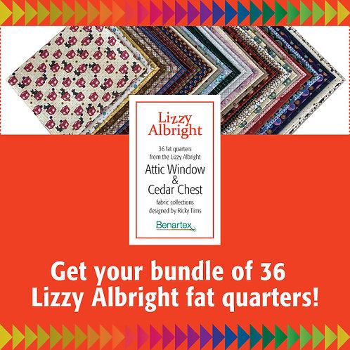 Lizzy Albright Fat Quarter Fabric Bundle