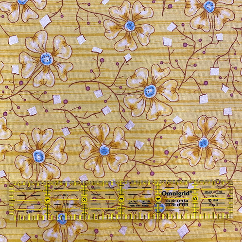 Lizzy Albright Fun Flowers Yellow