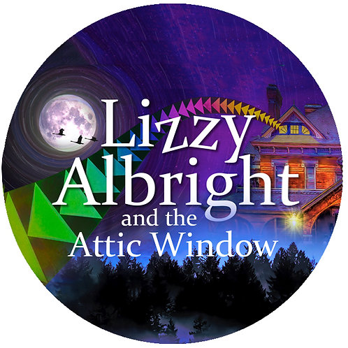 Lizzy Albright Collectible Button
