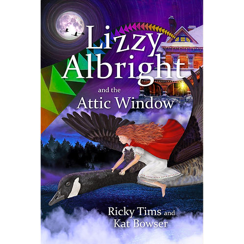 Lizzy Albright and the Attic Window (paperback)