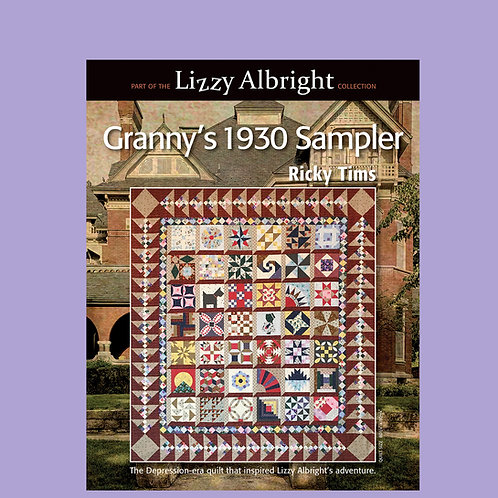 Granny's 1930 Sampler Pattern Book Softcover