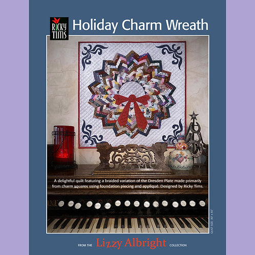 Holiday Charm Wreath - Print