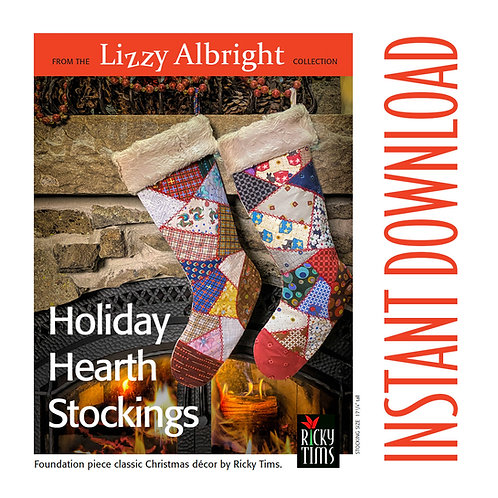 Holiday Hearth Stocking Download