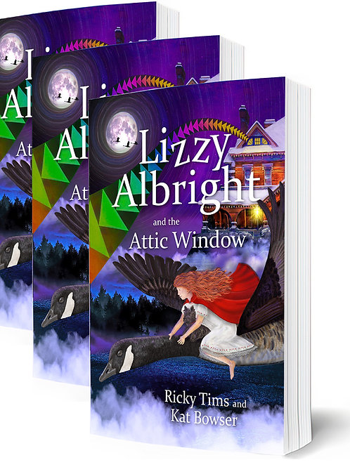 Lizzy Albright and the Attic Window ( Paperback) 3 pack