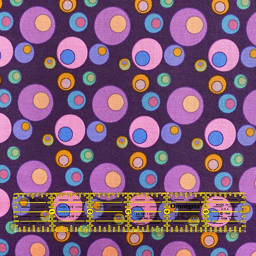 Lizzy Albright Bubbles Purple