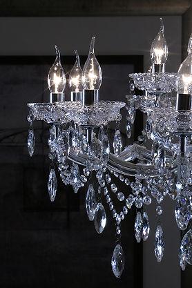 Limpeza e manutenção de lustres de cristal e vidro