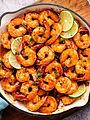 Spicy-Honey-Lime-Shrimp-Recipe-overheadc