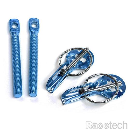 Bonnet/Hood Pin Set blue