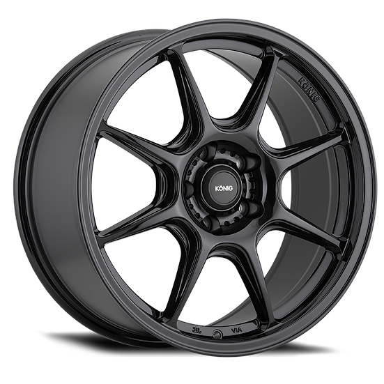 KONIG LOCKOUT  17x8 5x100 ET38 GLOSS BLACK