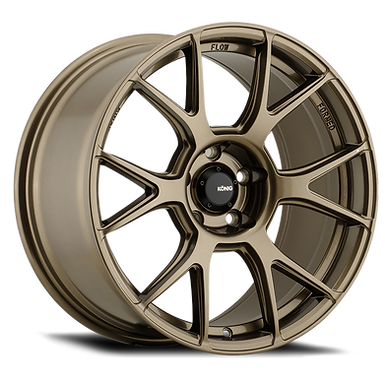 KONIG AMPLIFORM 18x8.5 5x108 ET43 GLOSS BRONZE