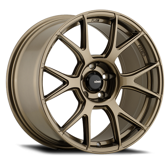 KONIG AMPLIFORM 18x8.5 5x100 ET44 GLOSS BRONZE