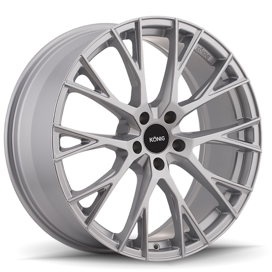 KONIG INTERFLOW 20x8.5 5x114.3 ET45 METALIC SILVER