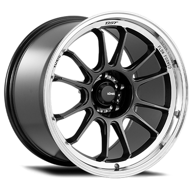 KONIG HYPERGRAM 15x7.5 4X100 ET35 METALLIC CARBON W/ MACHINED LIP