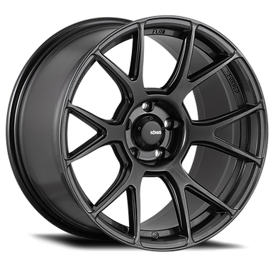 KONIG AMPLIFORM 18 x 8.5 5x112 ET32 DARK METALLIC GRAPHITE