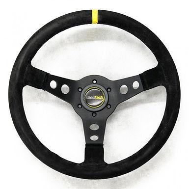 Steering Wheel, 350mm, 90mm dish, rally style