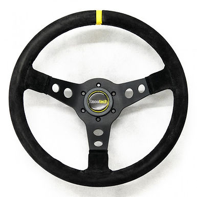 Steering Wheel, 350mm, 70mm dish, rally style
