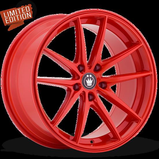 KONIG OVERSTEER 17x8 5x114.3 ET45 Gloss Red