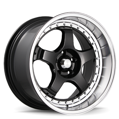 KONIG SSM 18x9 5X114.3 ET22 Gloss Black w/ Machined Lip
