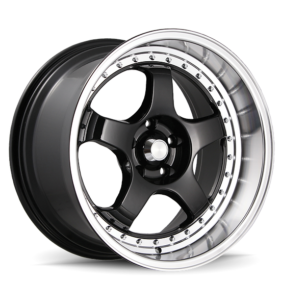 KONIG SSM 18x9 5x100 ET42 Gloss Black w/Machined Lip