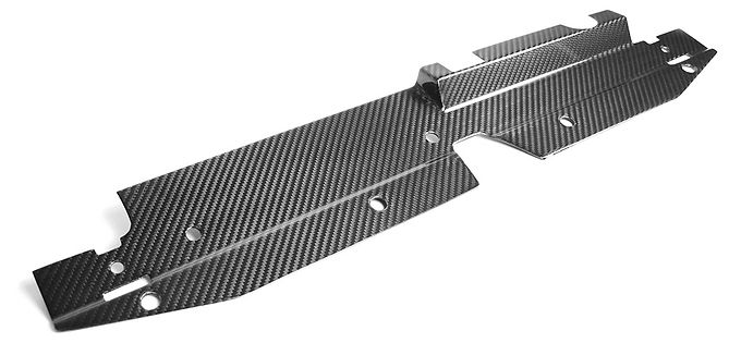 Carbon Fiber Cooling Plate Kit  (17-20  Civic Type R)